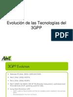 Evolucion de Las Tecnologias 3GPP