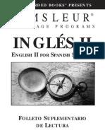 ESL Spanish II Book