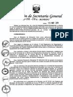 Normas Tecnicas Para El Diseño de Locales Escolares de Educacion Basica Inicial 2014 - ARQ. José Luis Lacho