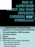 Role of Advertising Agencies