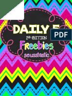 Daily 5 Book Study Freebie-TPT