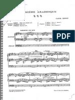 Arabesca Debussy Arreglo