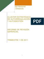 1er Informe Revision Gerencial 2011mmm