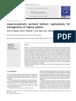 Balloon Vaginoplasty