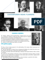 CONTEMPORARY INDIAN ARCHITECTS