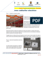 0y. Pozarea Cablurilor Electrice