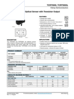 tcrt5000 reflective sensor