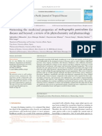 Harnessing the medicinal properties of Andrographis paniculata for diseases and beyond