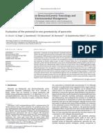 Evaluation of the Potential in Vivo Genotoxicity of Quercetin