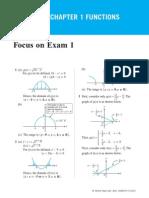 1 Focus on Exam 1