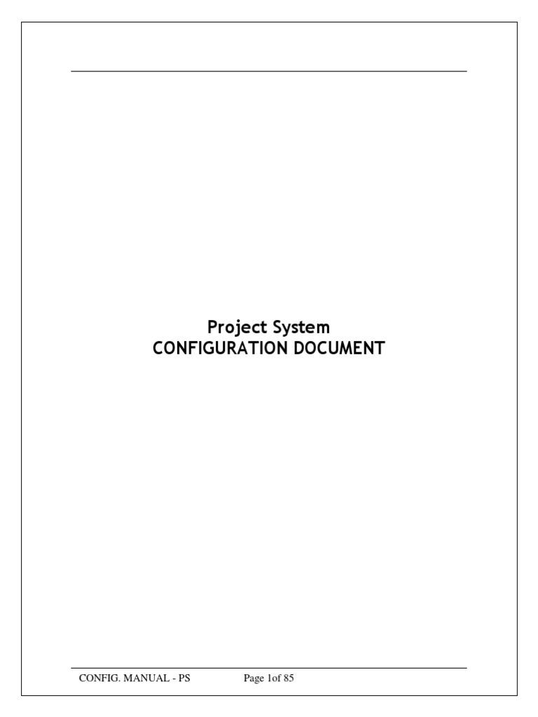 sap ps configuration guide areas of computer science computing rh scribd com SAP mm SAP mm