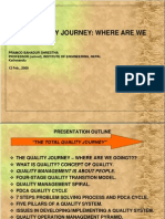 Total Quality Journey
