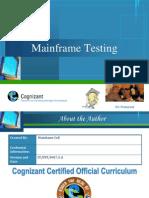 75640653 Mainframe Testing