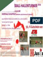 Straßenfußball-Hallenturnier 2014