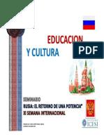 Educacion Cultura Rusa