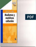 Modismos y Metáforas Culturales (Edinumen)
