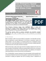 Preliminary Emergency Appeal PRCS 2014