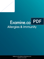 Allergies and Immunity