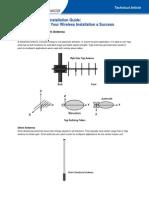 Wireless AnWireless Antenna Installation Guidetenna Installation Guide