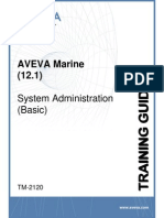 TM-2120 AVEVA Marine (12.1) System Administration (Basic) Rev 3.0