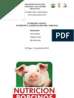Nutricion de Cerdo