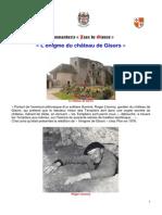 Enigme Chateau de Gisors