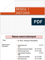 KELOMPOK 1 (DISTOSIA)