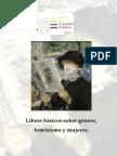 Libros Básicos Sobre Género,Feminismo y Mujeres