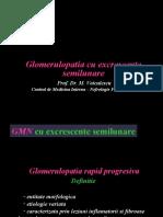 Glomerulopatia cu excrescente semilunare