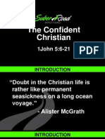 Confidence in the Christian Life