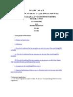 In Come Tax Qualifying Debt Securities Regulations