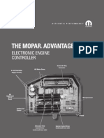 Mopar electric and electronic engine controller troubleshooting and OEM parts list