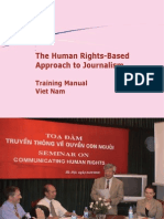 Human Rights Based Approach for Journalists