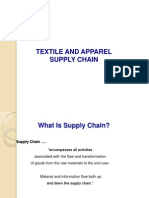 Textile and Apparel Supply Chain