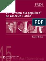 La `tercera ola populista´ de América Latina