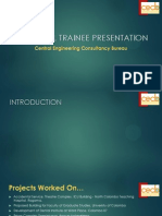 Industrial Trainee Presentation