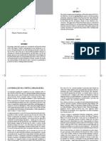 A Formação Da Crítica Brasileira Moderna - Releitura de Papéis Colados