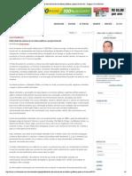 Publicidade dos salários de servidores públicos - posição favorável (Claudio Chequer)