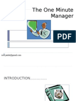one minute manager ppt