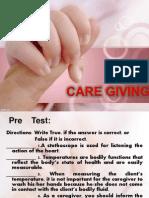 Caregiving Body Temperature
