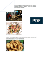 Comidas Tipicas Isla Chiloe