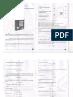 Mnual Programador PG-4010 Con Pantalla Sovica