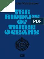 Kondratov the Riddles of Three Oceans