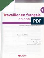 Travailler en Francais, En Entreprise A1 - A2