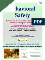 Behavioral Safety