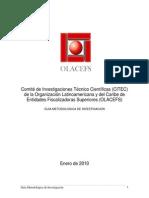 07.2010.Guía.de.Investigación CITEC OLACEFS