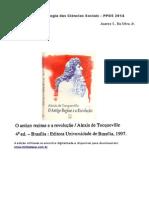 Seminário Metodologia Tocqueville Antigo Regime