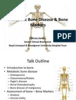 Metabolic Bone Disease & Bone Markers - Slides