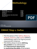 EPD 432 DMAIC Methodology