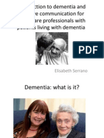 Health Promotion on Dementia